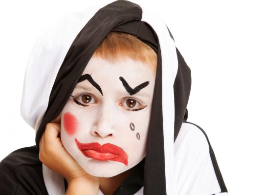 Clown triste